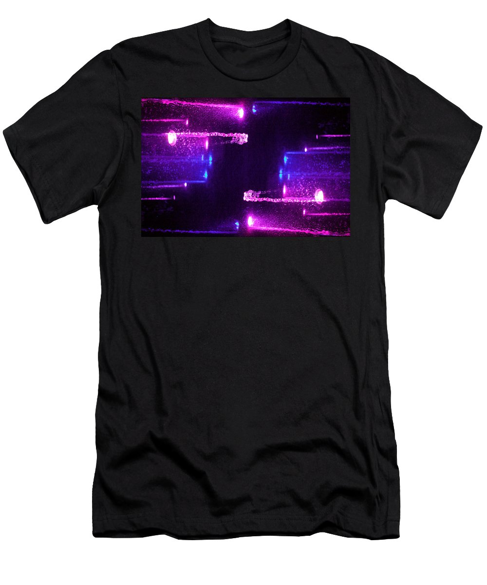 Abstract Men's T-Shirt (Athletic Fit) featuring the photograph X-flow by Stanislav Killer
