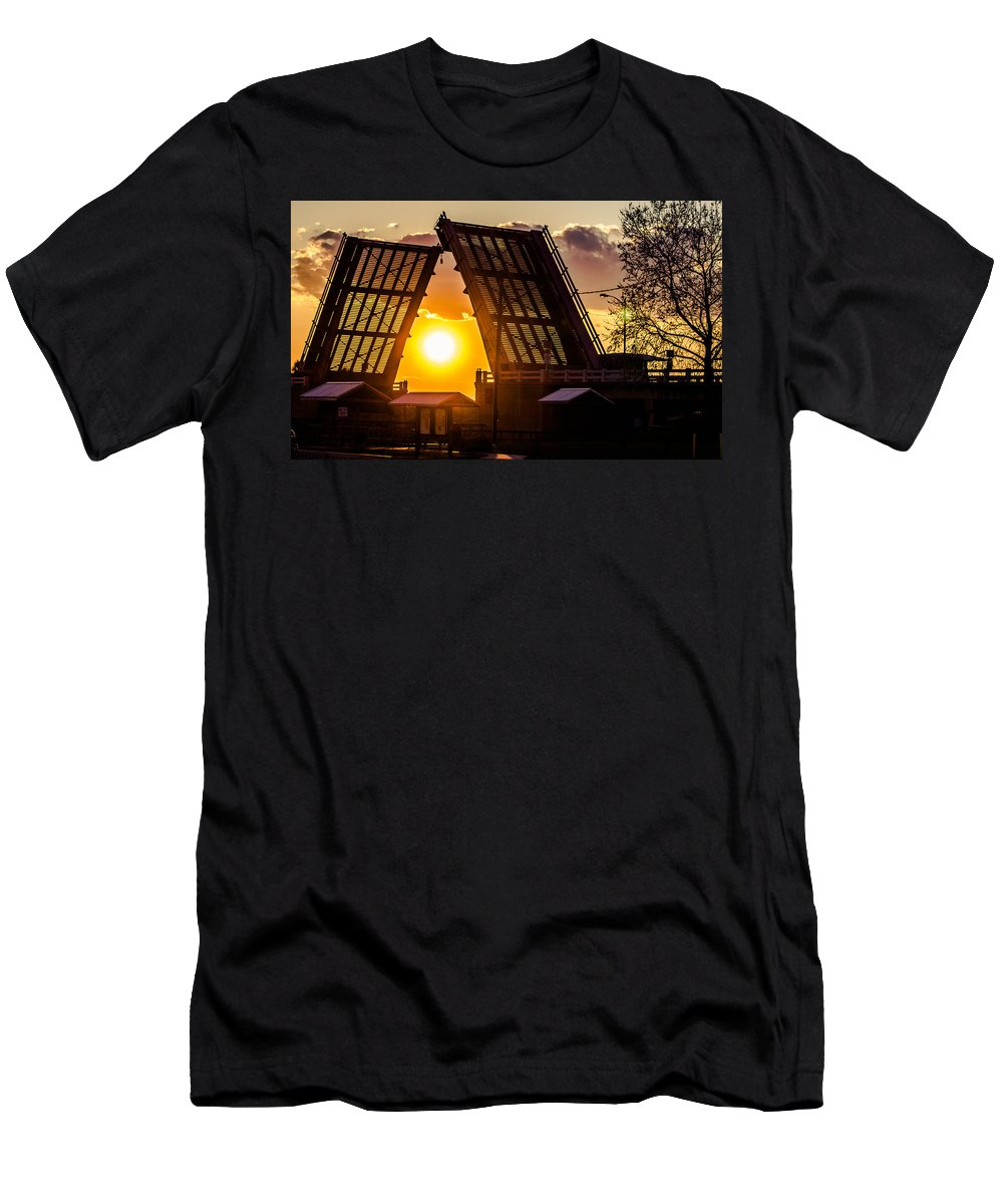 Drawbridge Men's T-Shirt (Athletic Fit) featuring the photograph X-ray Vision by Tyson Kinnison