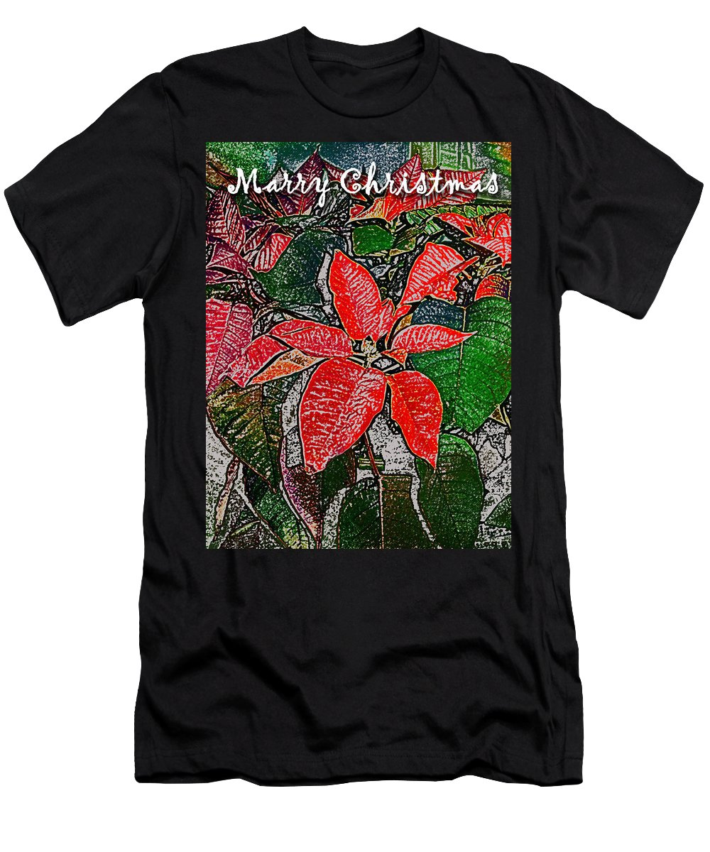 Christmas Card Men's T-Shirt (Athletic Fit) featuring the photograph Xmas Card 2 by David Pantuso