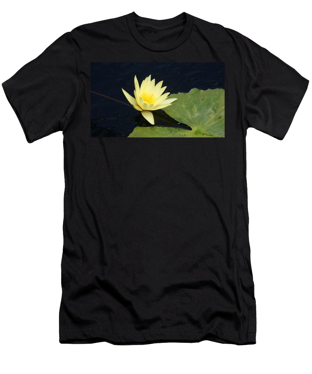 Yellow Men's T-Shirt (Athletic Fit) featuring the photograph Yellow Saturating... by Rob Luzier