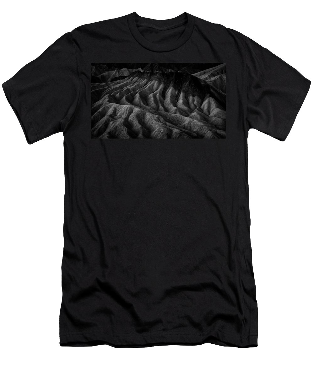 Death Valley Men's T-Shirt (Athletic Fit) featuring the photograph Zabriskies Nuts by Dayne Reast