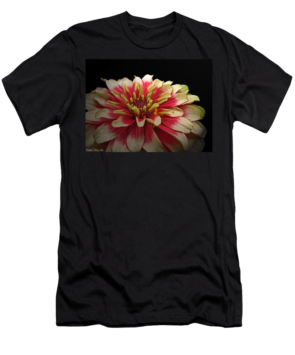 Nature Men's T-Shirt (Athletic Fit) featuring the photograph Cherry Vanilla by Debbie Portwood