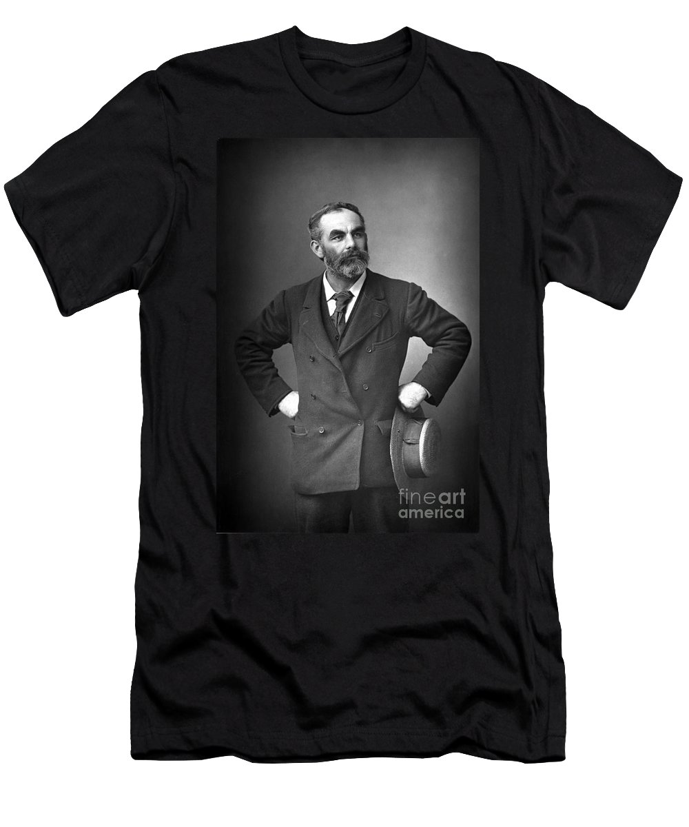 1893 Men's T-Shirt (Athletic Fit) featuring the photograph John Burns (1858-1943) by Granger