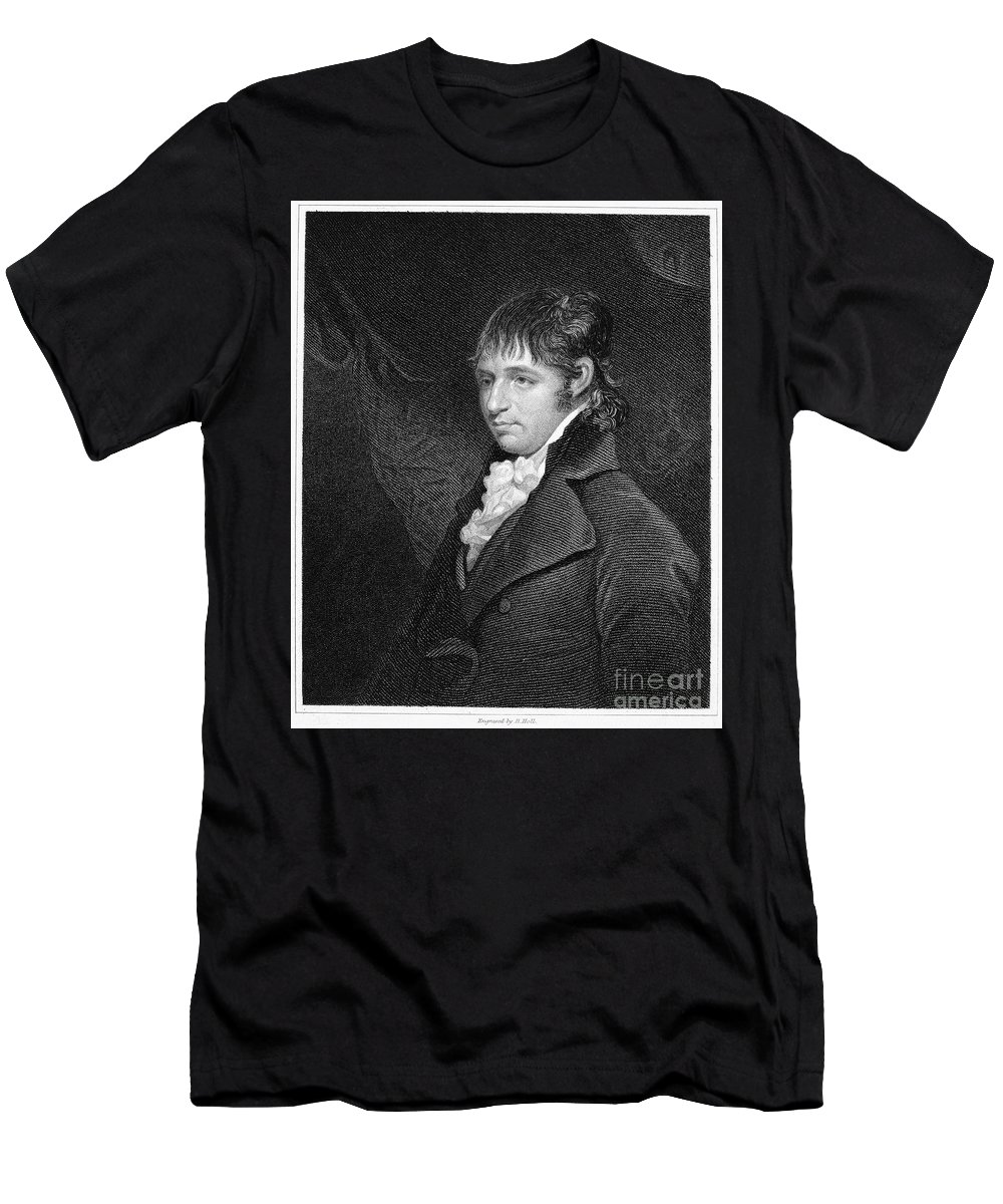 18th Century Men's T-Shirt (Athletic Fit) featuring the photograph Richard Porson (1759-1808) by Granger