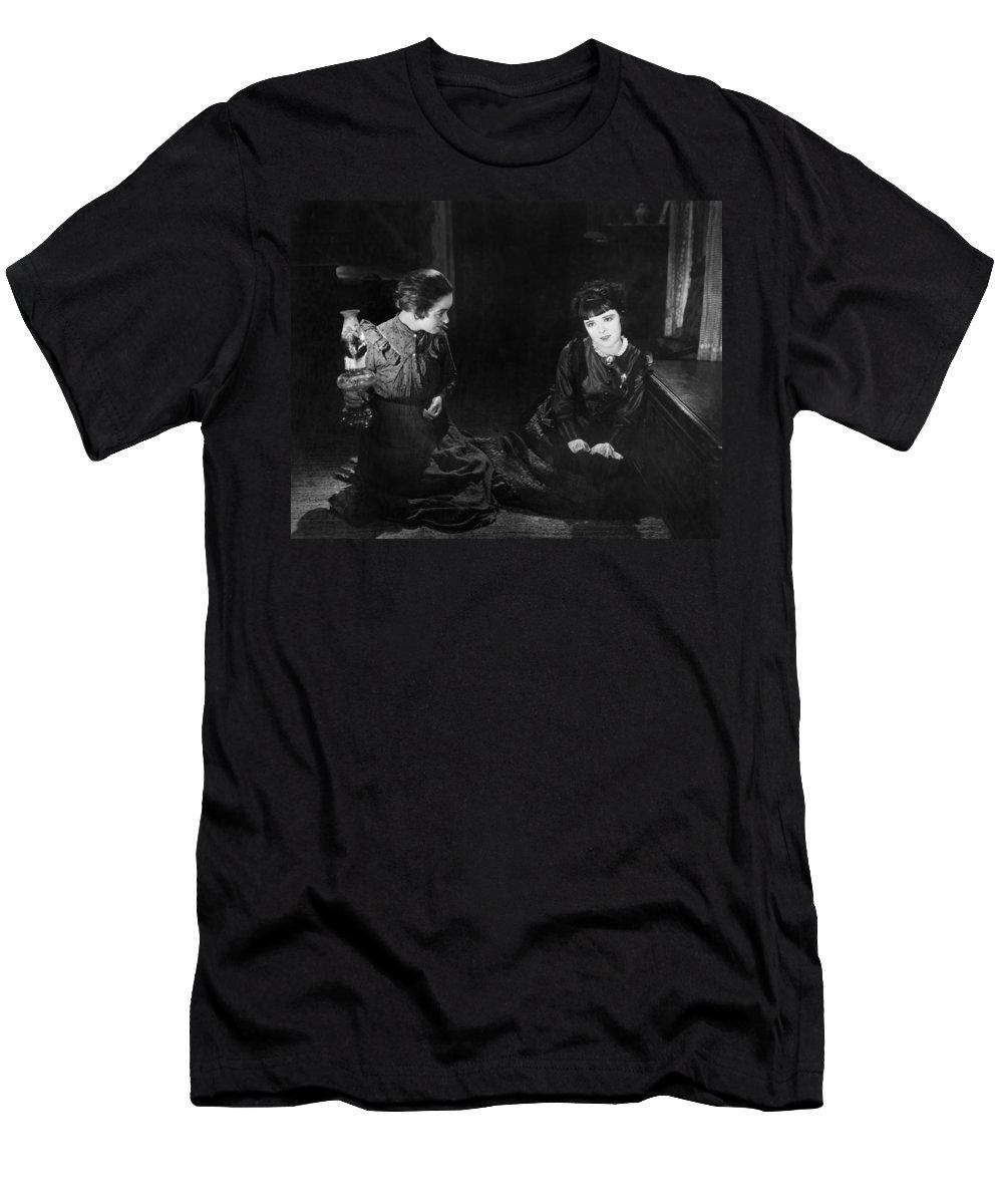 -ecq- Men's T-Shirt (Athletic Fit) featuring the photograph Silent Film Still: Women by Granger