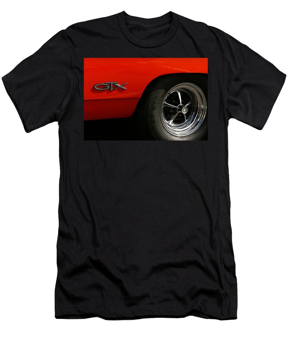 1969 Men's T-Shirt (Athletic Fit) featuring the photograph 1969 Plymouth Gtx Hemi by Gordon Dean II