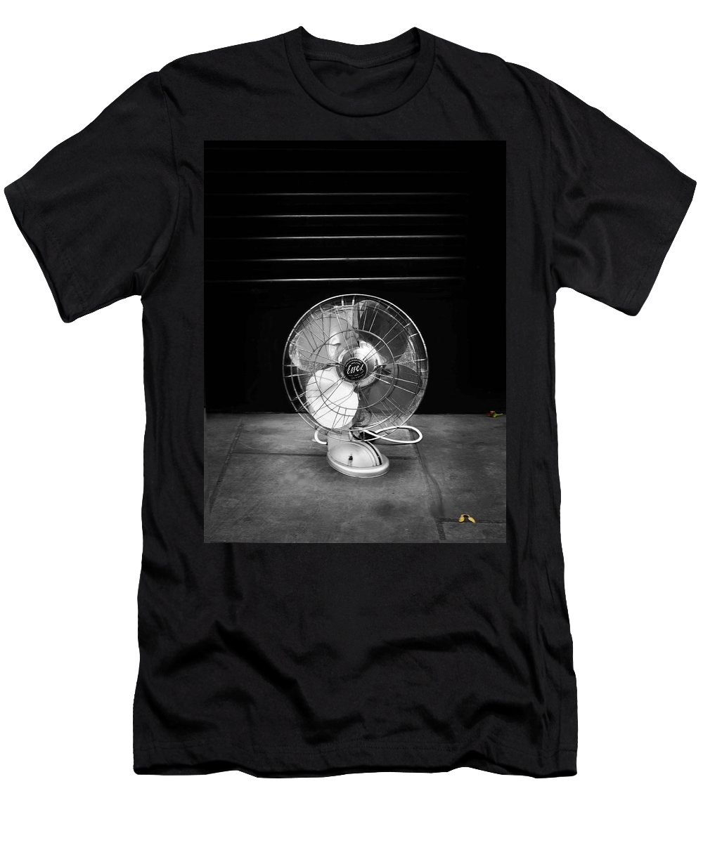 Fan Men's T-Shirt (Athletic Fit) featuring the photograph Harvest by Charles Stuart