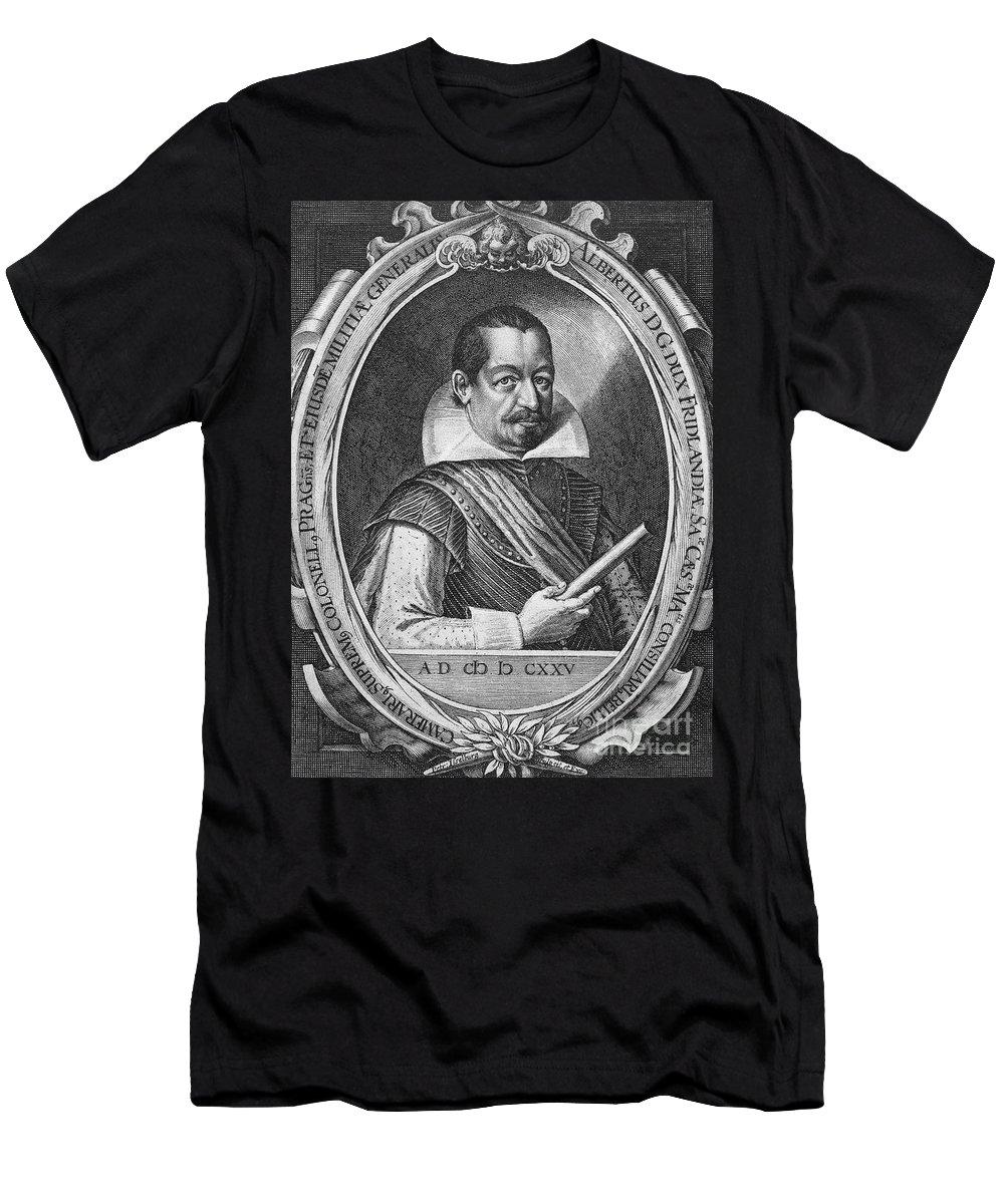 16th Century Men's T-Shirt (Athletic Fit) featuring the photograph Albrecht Von Wallenstein by Granger