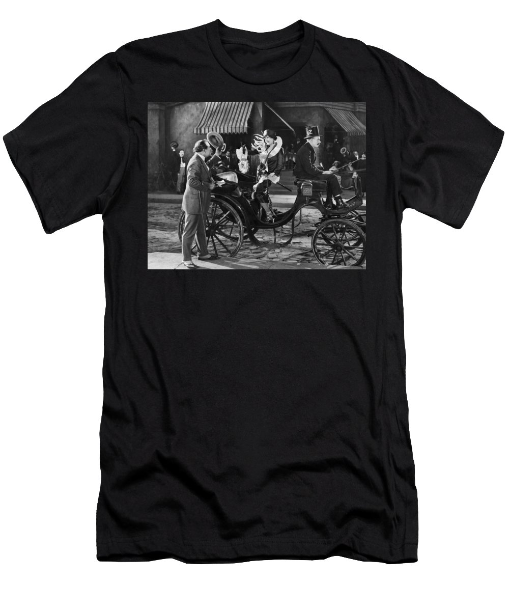 -transportation: Misc- Men's T-Shirt (Athletic Fit) featuring the photograph Film: Transportation: Misc by Granger