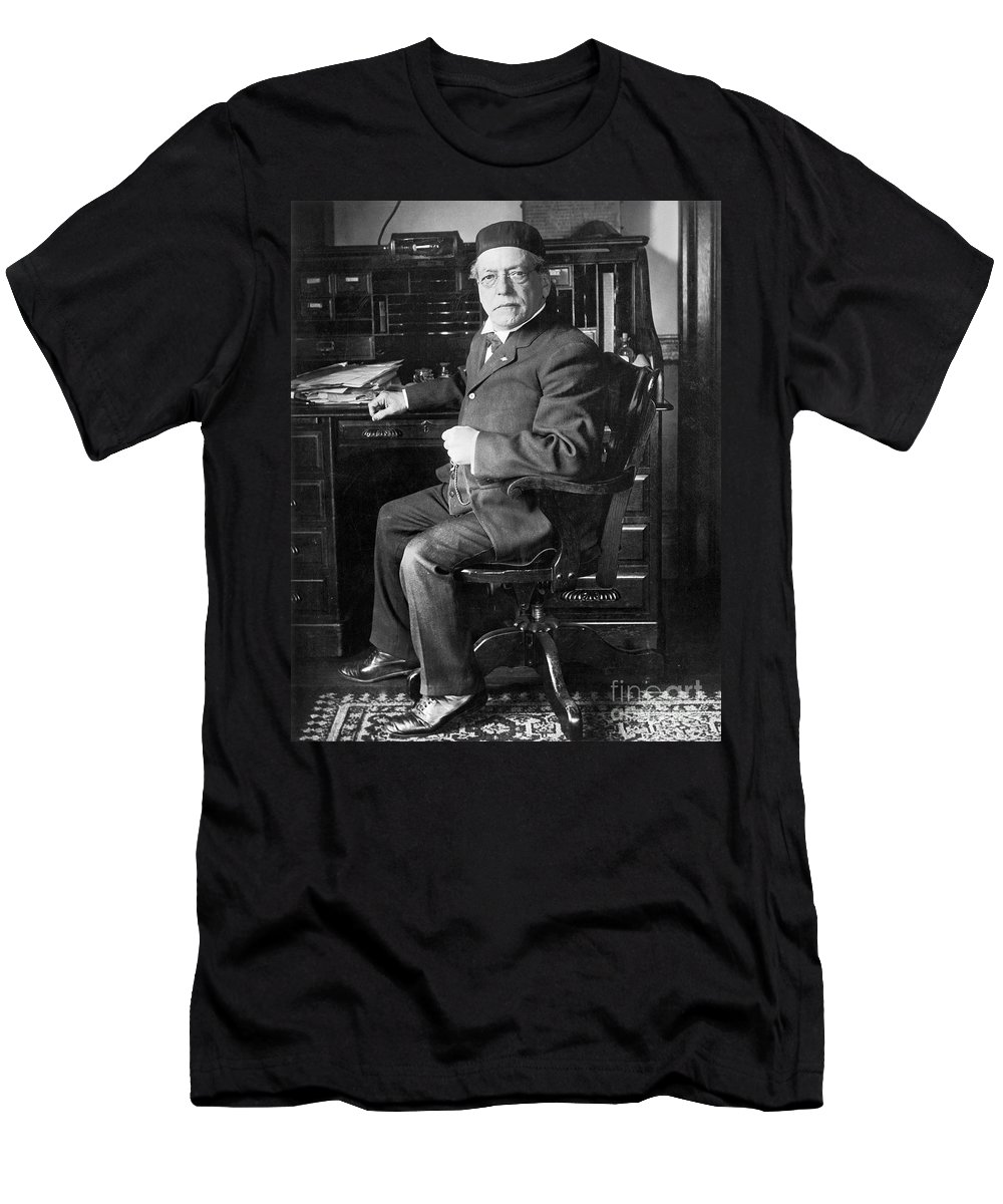 20th Century Men's T-Shirt (Athletic Fit) featuring the photograph Samuel Gompers (1850-1924) by Granger