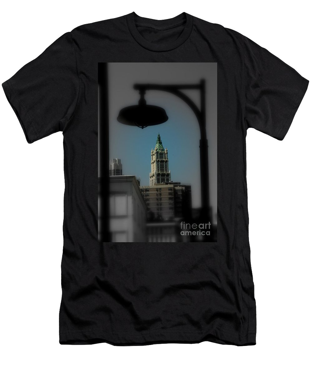 Digital Designs T-Shirt featuring the photograph Woolworth Building by Mark Gilman