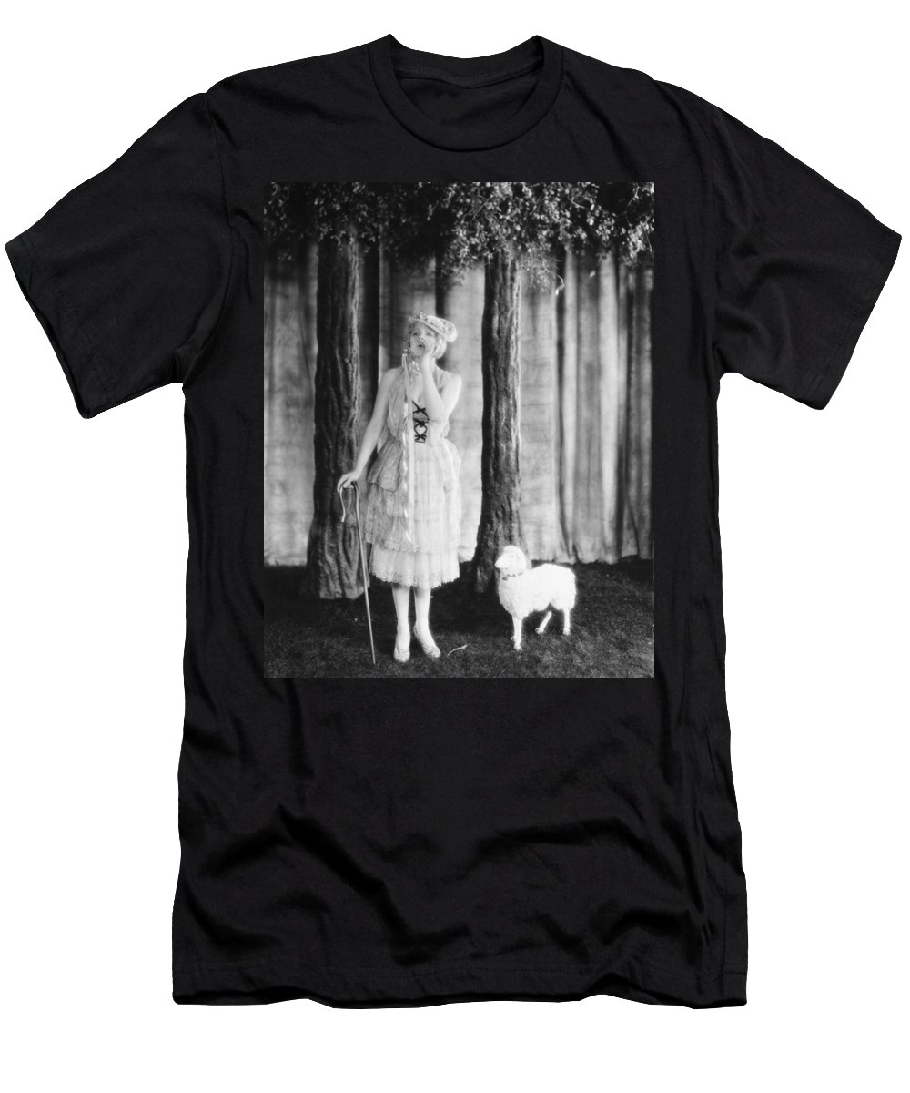 1920s Men's T-Shirt (Athletic Fit) featuring the photograph Silent Film Still by Granger