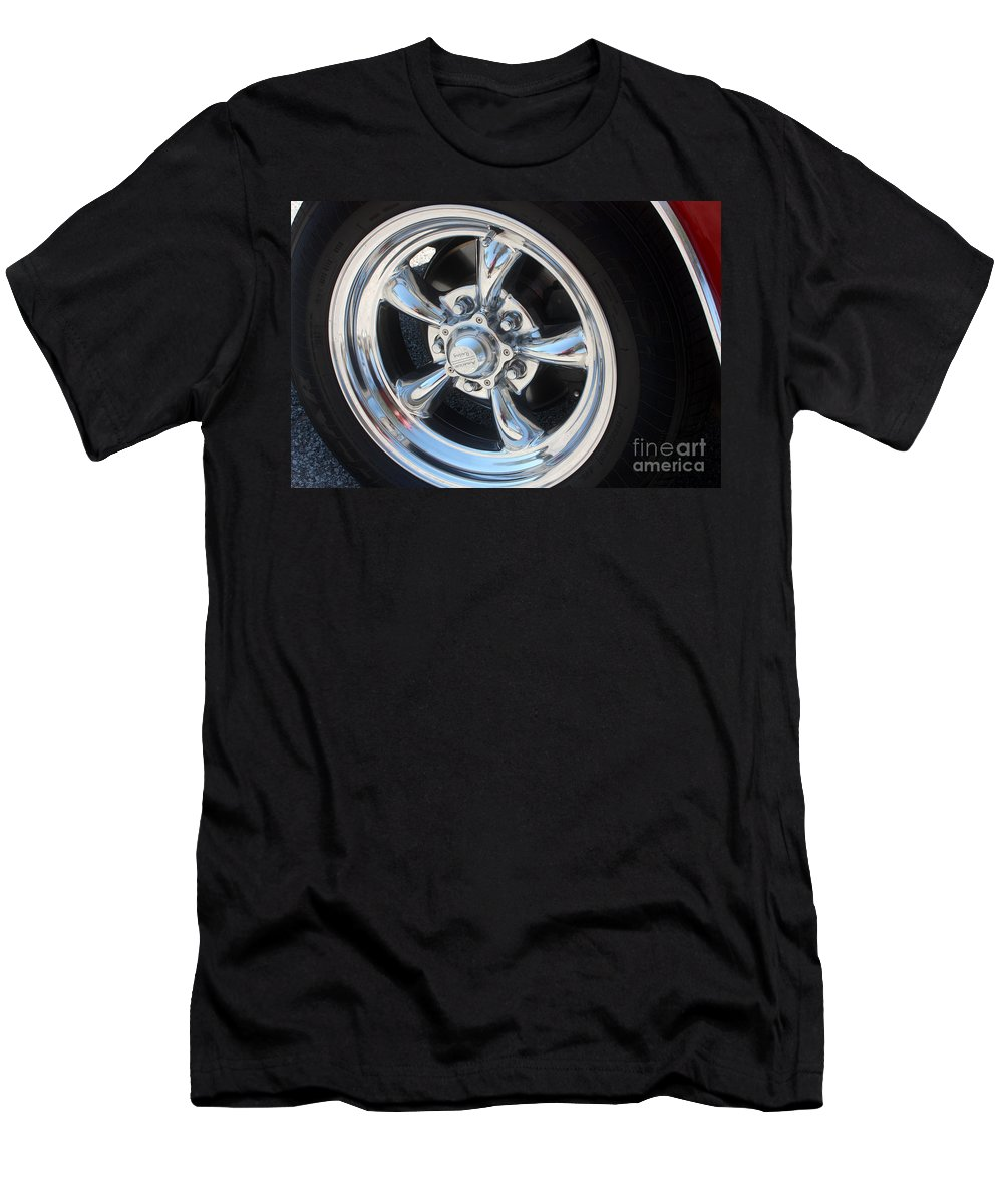 Chevrolet Men's T-Shirt (Athletic Fit) featuring the photograph 65 Malibu Ss 7829 by Gary Gingrich Galleries