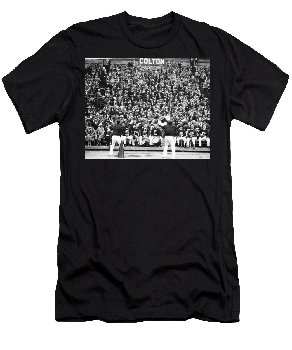 -sports- Men's T-Shirt (Athletic Fit) featuring the photograph Silent Film Still: Sports by Granger