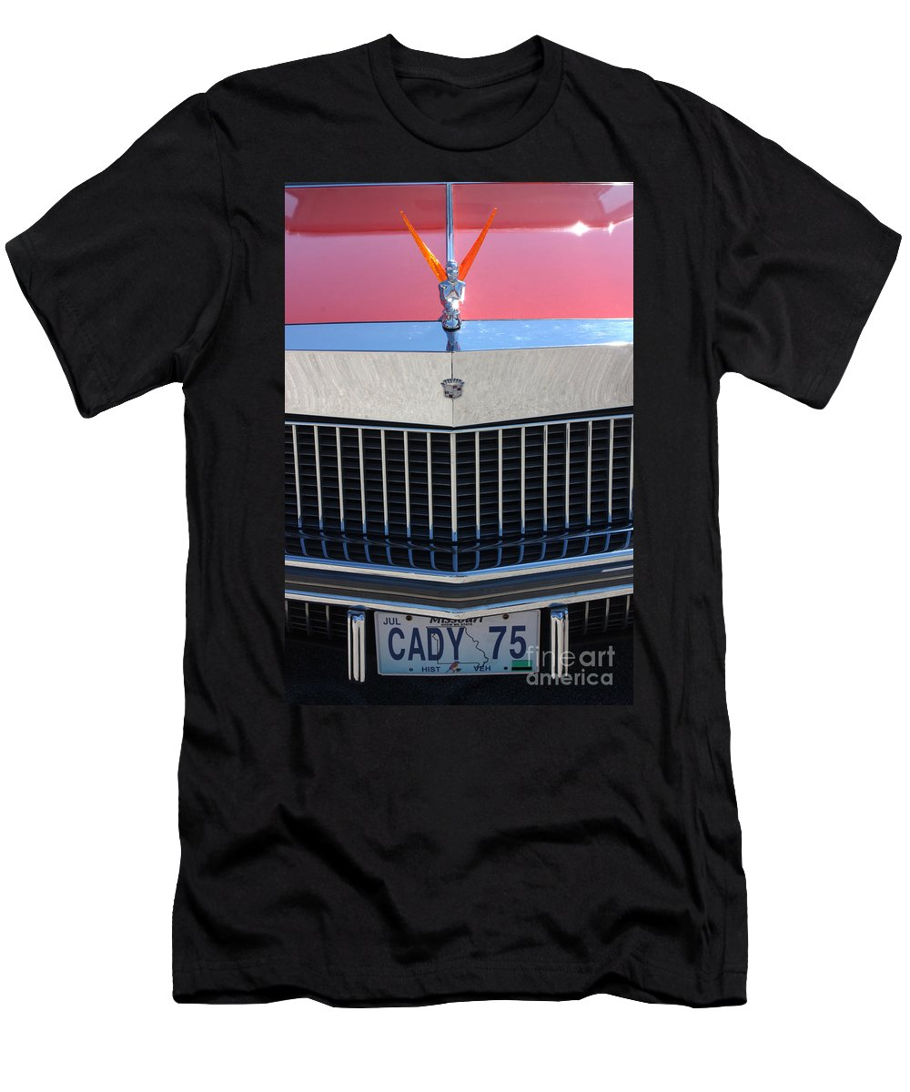 1975 Men's T-Shirt (Athletic Fit) featuring the photograph 75 Caddy 7851 by Gary Gingrich Galleries