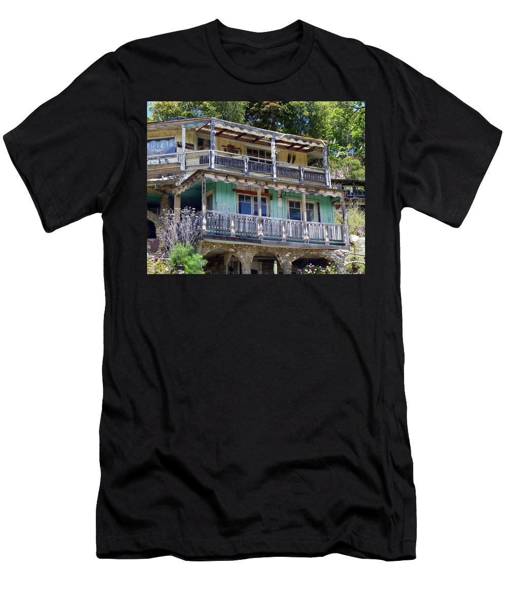 House Men's T-Shirt (Athletic Fit) featuring the photograph 881 Nitwit Ridge by Carla Parris