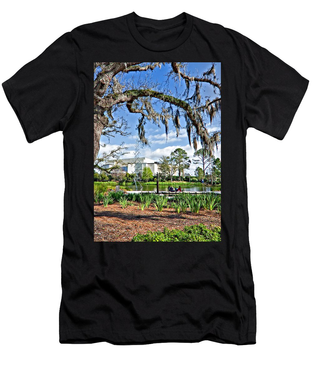 New Orleans Men's T-Shirt (Athletic Fit) featuring the photograph A Gentle Afternoon by Steve Harrington
