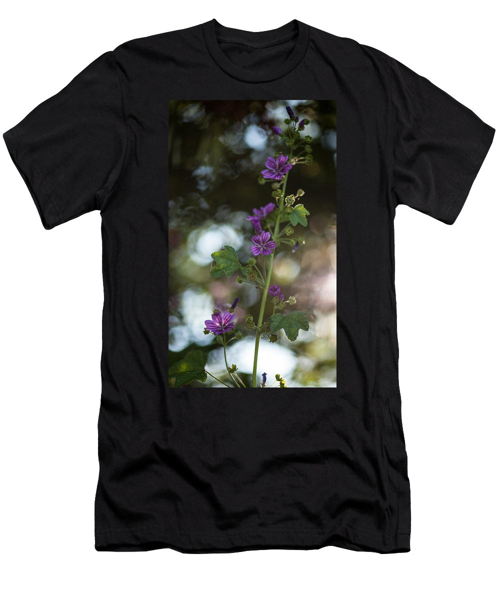 Flower Men's T-Shirt (Athletic Fit) featuring the photograph Abstract Beauty by Mike Reid