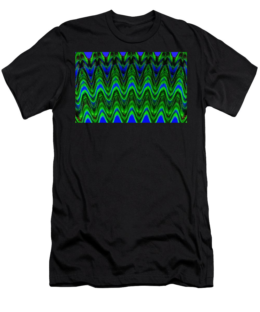 Abstract Fusion Men's T-Shirt (Athletic Fit) featuring the digital art Abstract Fusion 125 by Will Borden