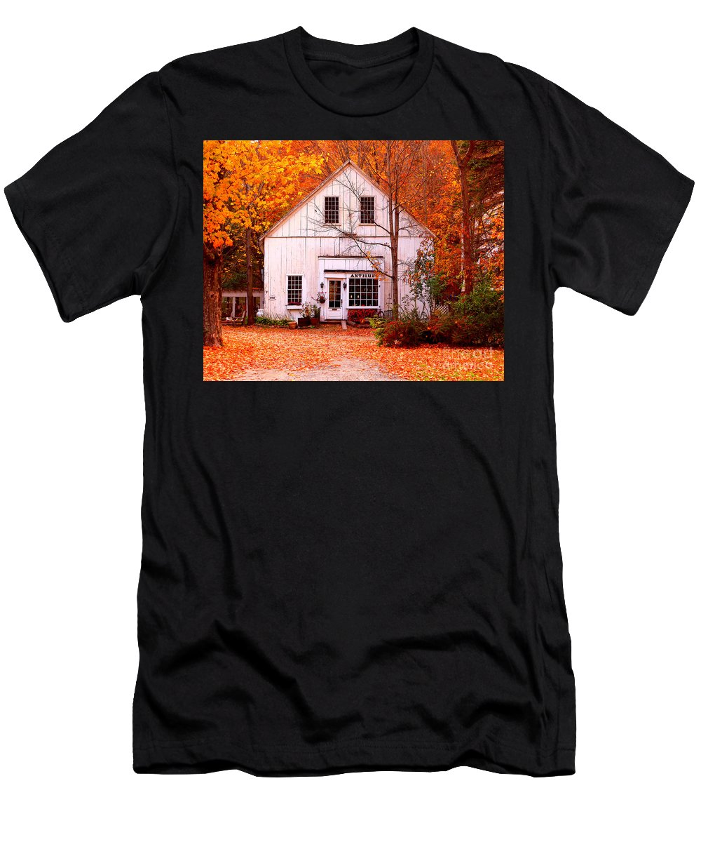 Antiques Store Men's T-Shirt (Athletic Fit) featuring the photograph Antiques Store by Jack Schultz
