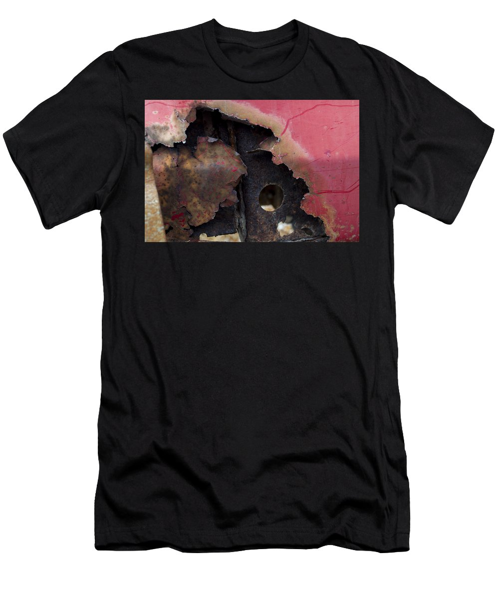 Abstract Men's T-Shirt (Athletic Fit) featuring the photograph Ap19 by Fran Riley