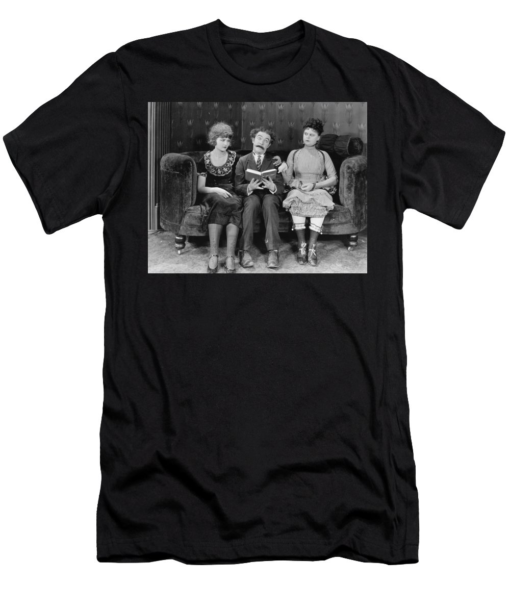 -triangles- Men's T-Shirt (Athletic Fit) featuring the photograph Astray From The Steerage by Granger