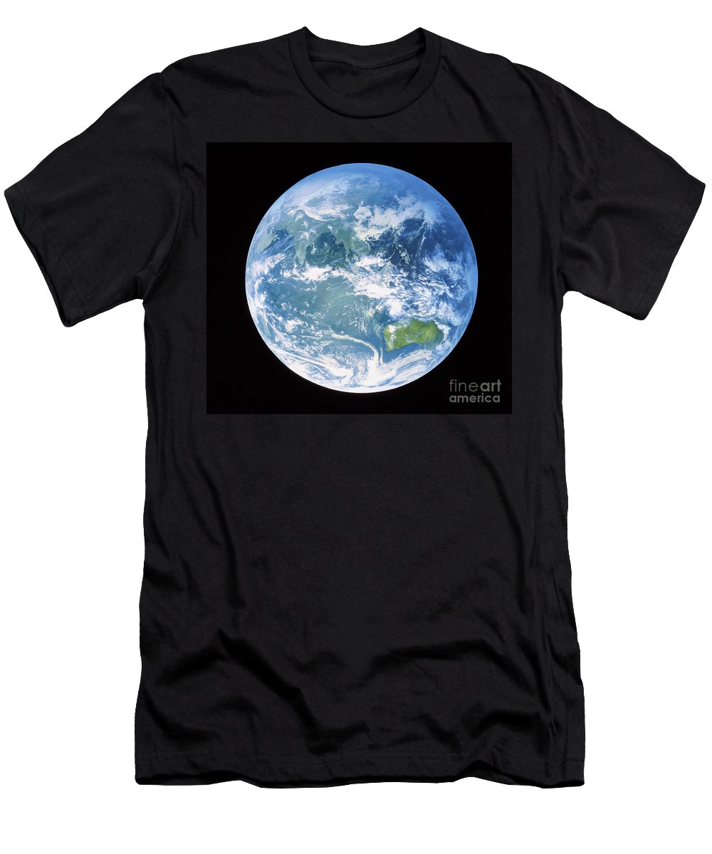 Australasia Men's T-Shirt (Athletic Fit) featuring the photograph Australasia by NASA / Goddard Space Flight Center