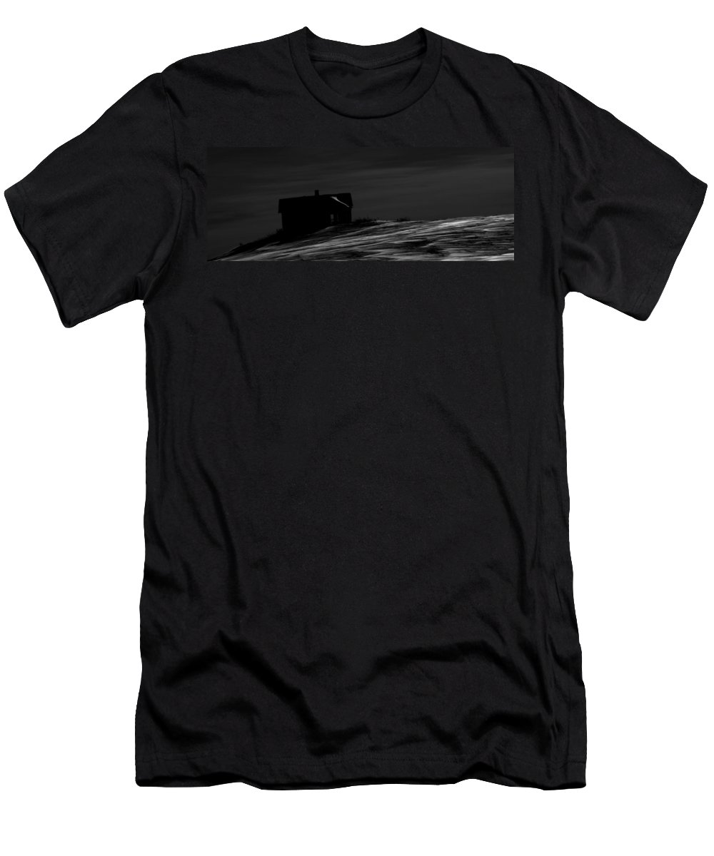 Barn Men's T-Shirt (Athletic Fit) featuring the photograph Barn 673 by The Artist Project