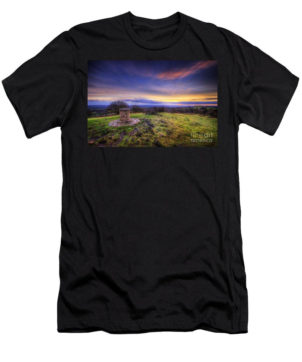 Art Men's T-Shirt (Athletic Fit) featuring the photograph Beacon Hill Sunrise 8.0 by Yhun Suarez