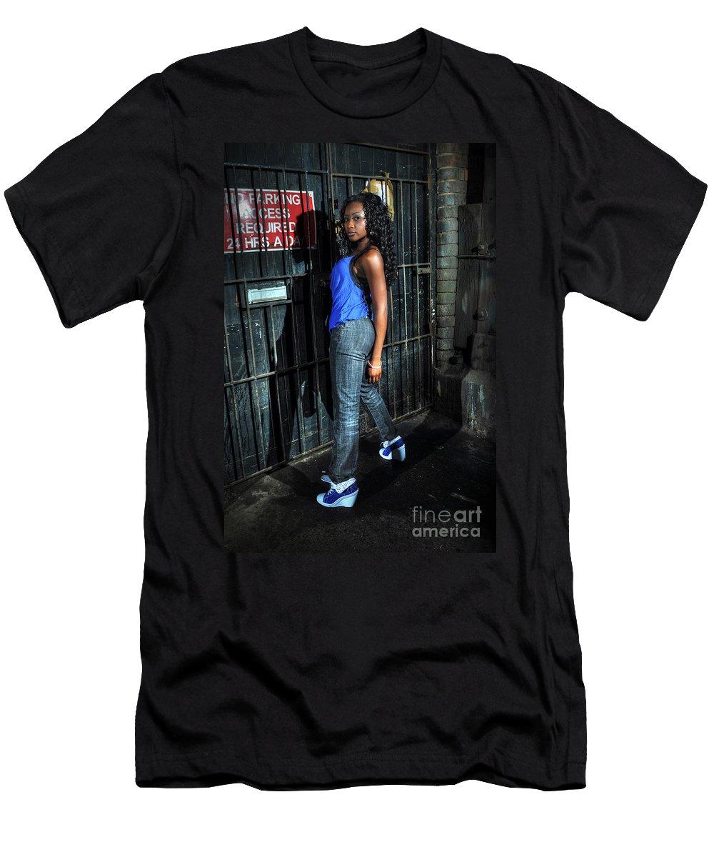 Yhun Suarez Men's T-Shirt (Athletic Fit) featuring the photograph Bel11.0 by Yhun Suarez