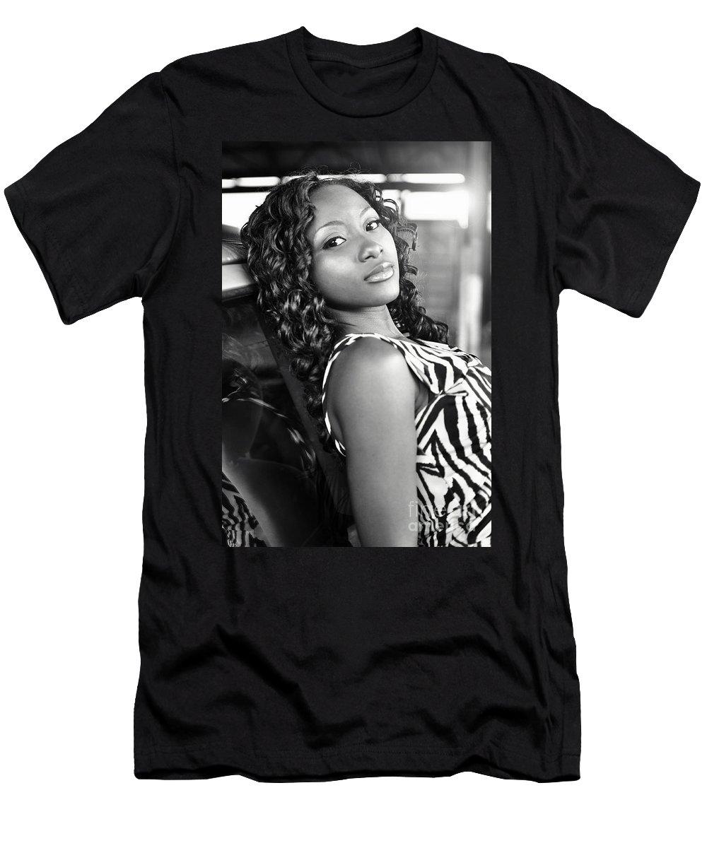 Yhun Suarez Men's T-Shirt (Athletic Fit) featuring the photograph Bel9.0 by Yhun Suarez