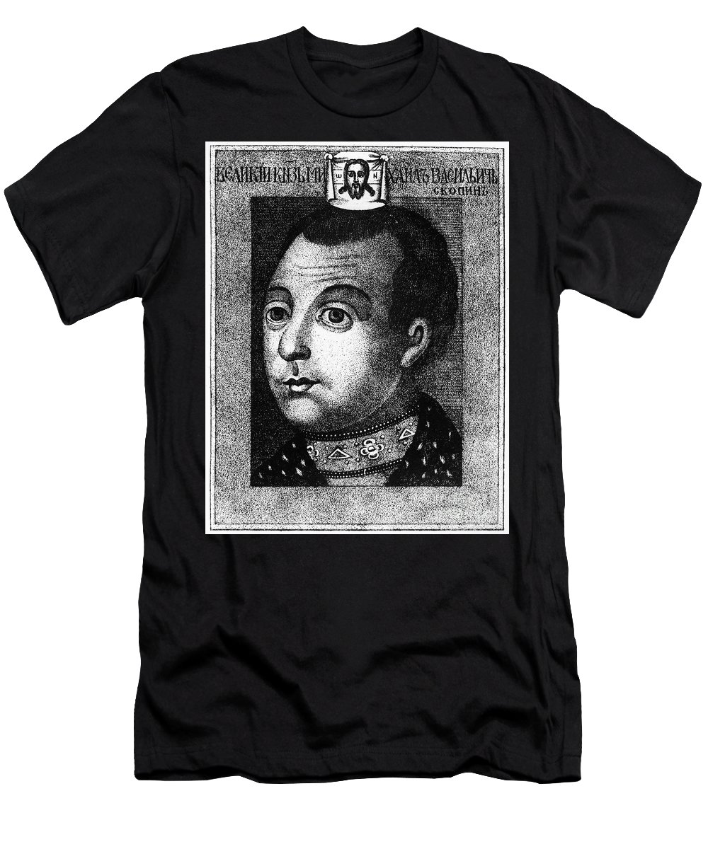 1590s Men's T-Shirt (Athletic Fit) featuring the photograph Boris Godunov (c1551-1605) by Granger