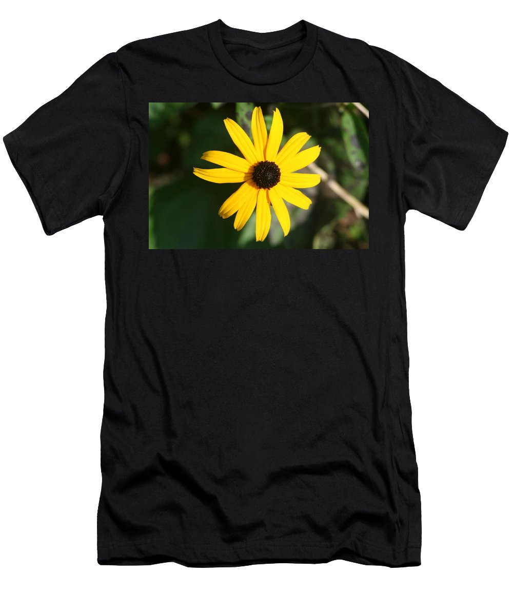 Men's T-Shirt (Athletic Fit) featuring the photograph Bright Yellow by Barbara S Nickerson