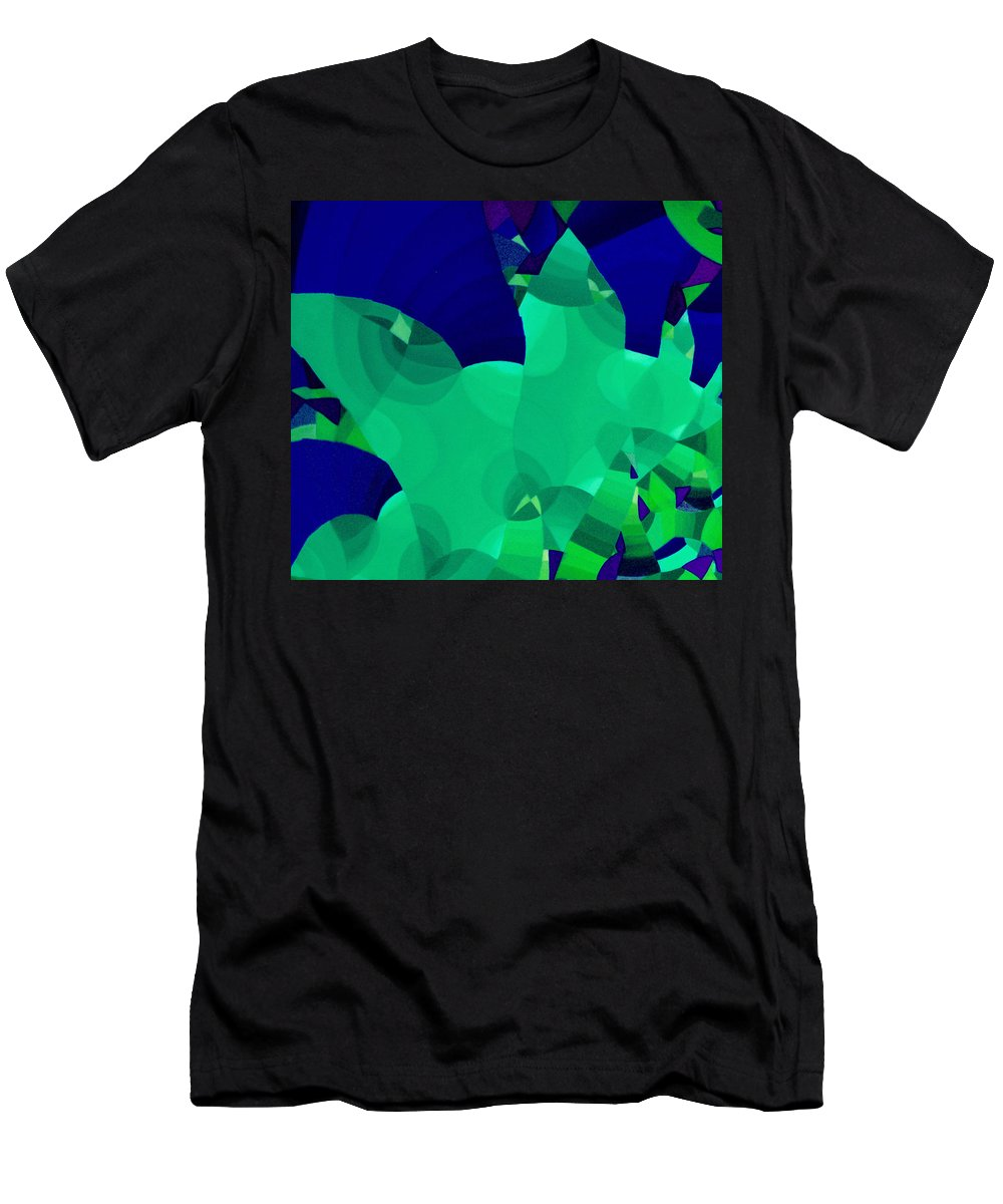 Australian Men's T-Shirt (Athletic Fit) featuring the painting Carnivale 3 by Giro Tavitian