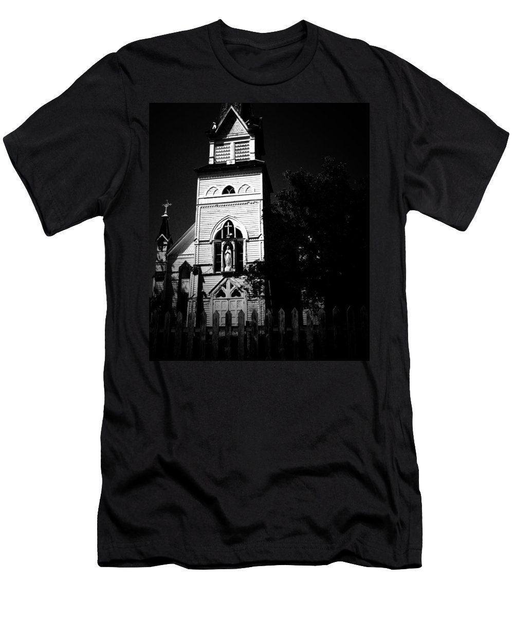 Fall Men's T-Shirt (Athletic Fit) featuring the photograph Chapter Thirteen by The Artist Project