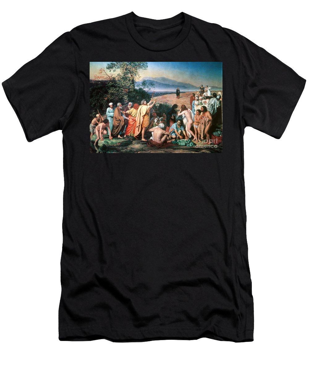 19th Century Men's T-Shirt (Athletic Fit) featuring the photograph Christ Appears by Granger
