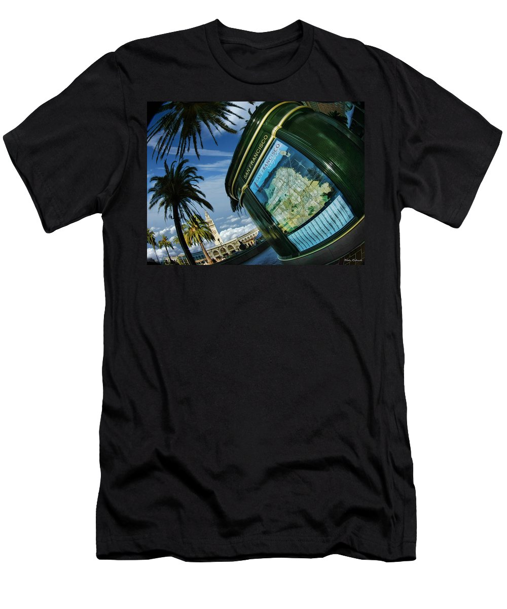 Art Photography Men's T-Shirt (Athletic Fit) featuring the photograph City By The Bay by Blake Richards