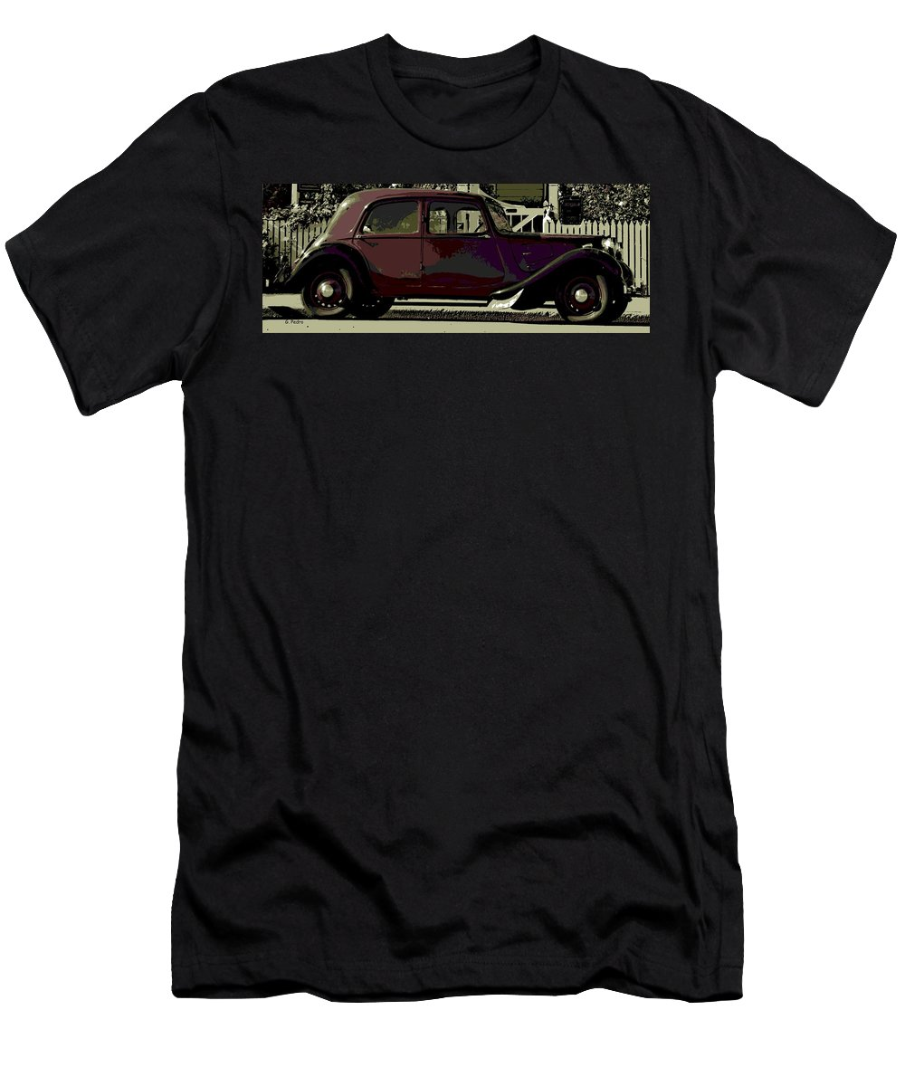 Citroen Men's T-Shirt (Athletic Fit) featuring the photograph Classical French by George Pedro