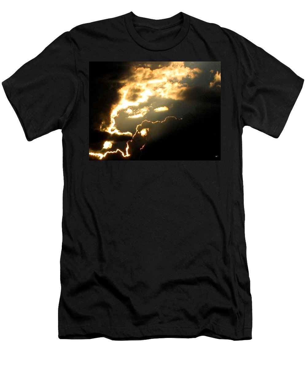 Sky Men's T-Shirt (Athletic Fit) featuring the photograph Cloud Nine 12 by Will Borden