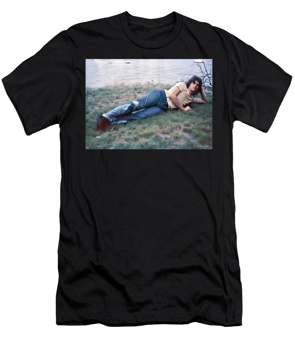 2d Men's T-Shirt (Athletic Fit) featuring the photograph Colin Ward by Brian Wallace