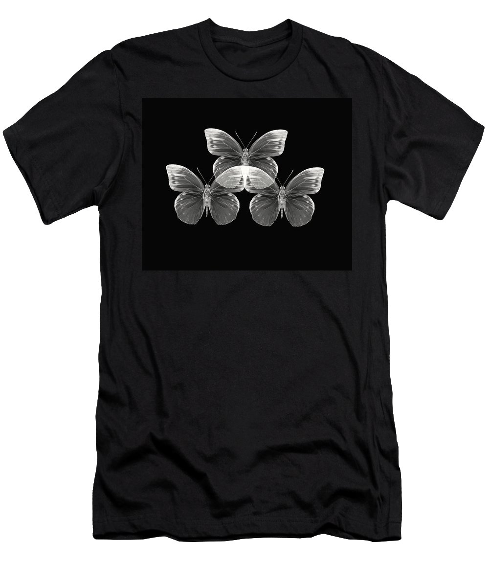 Butterfly Photographs Photographs Men's T-Shirt (Athletic Fit) featuring the photograph Collection2 by Lourry Legarde