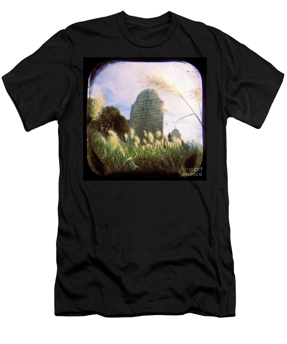 Cemetery Men's T-Shirt (Athletic Fit) featuring the photograph Concilation by Andrew Paranavitana