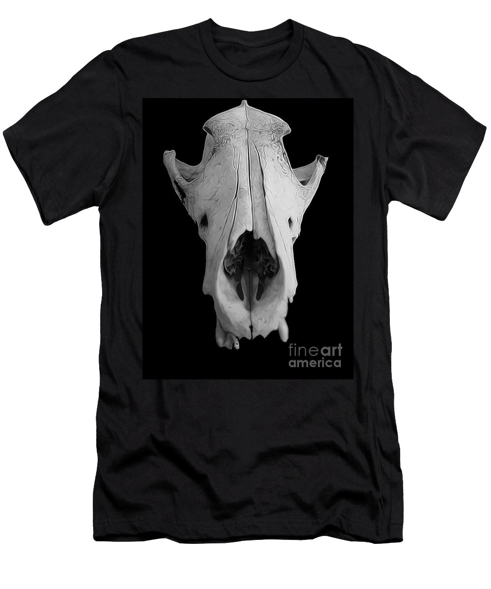 Coyote Men's T-Shirt (Athletic Fit) featuring the photograph Coyote by Heather Applegate