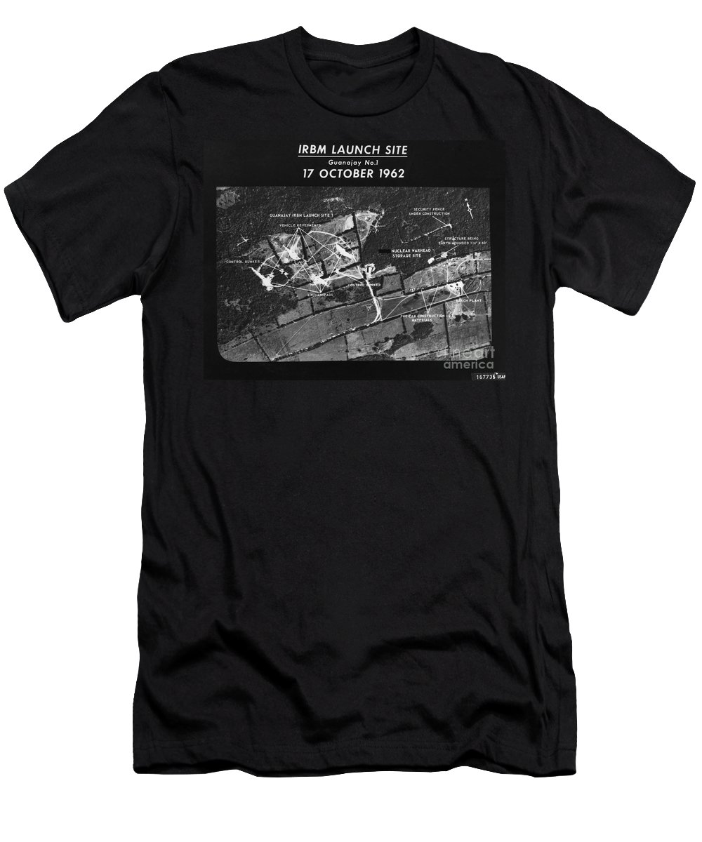 1962 Men's T-Shirt (Athletic Fit) featuring the photograph Cuban Missile Crisis, 1962 by Granger