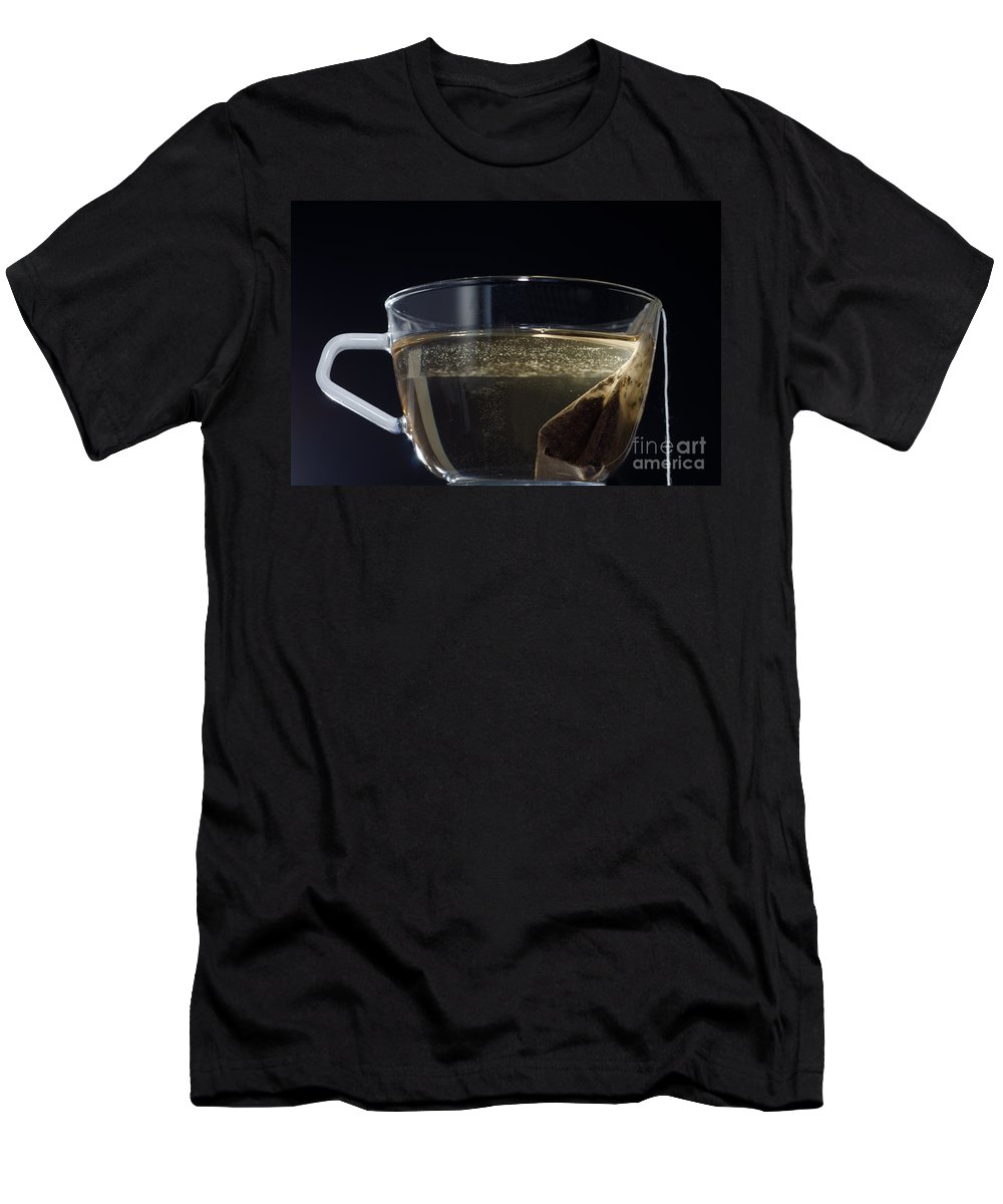 Tea Men's T-Shirt (Athletic Fit) featuring the photograph Cup Of Tea by Mats Silvan