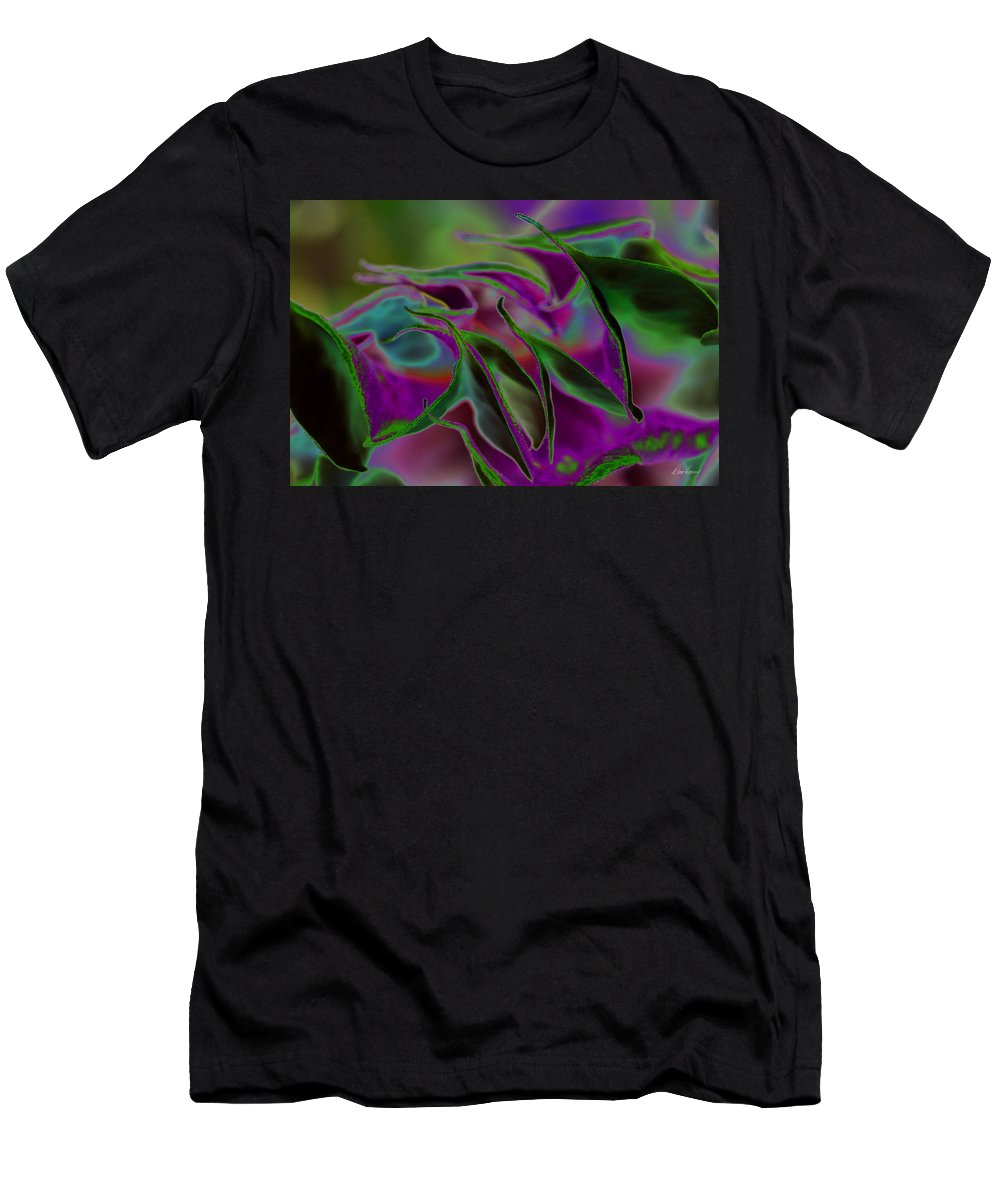 Datura Men's T-Shirt (Athletic Fit) featuring the photograph Datura Dreams by Diana Haronis