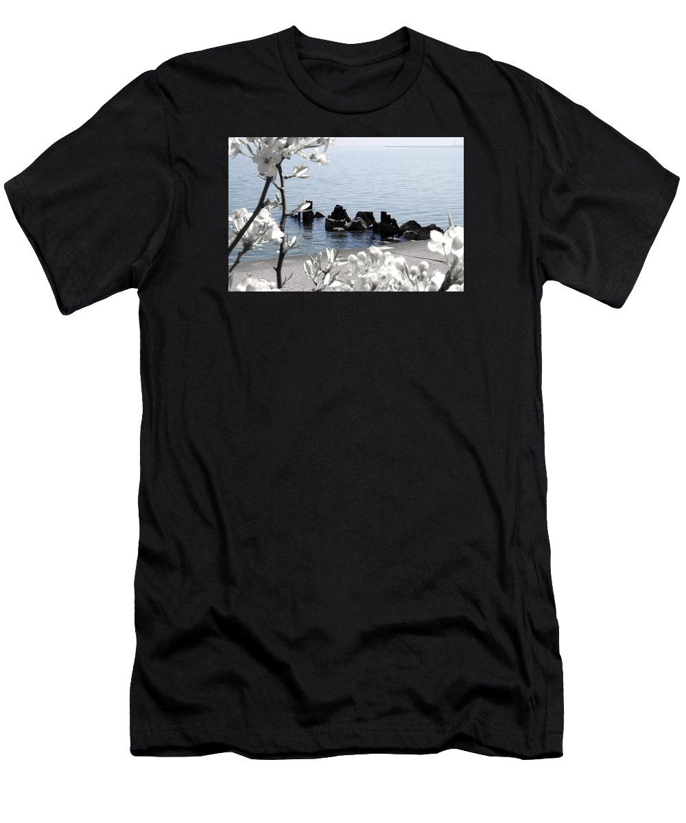 Spring Men's T-Shirt (Athletic Fit) featuring the photograph Delightful Spring by Milena Ilieva