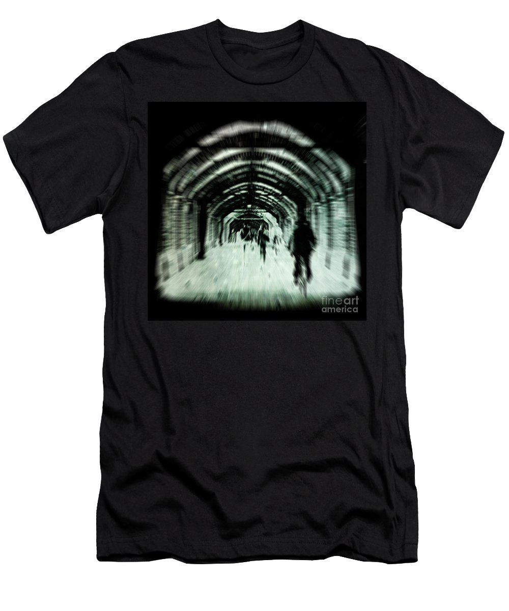 Andrew Men's T-Shirt (Athletic Fit) featuring the photograph Delusions by Andrew Paranavitana