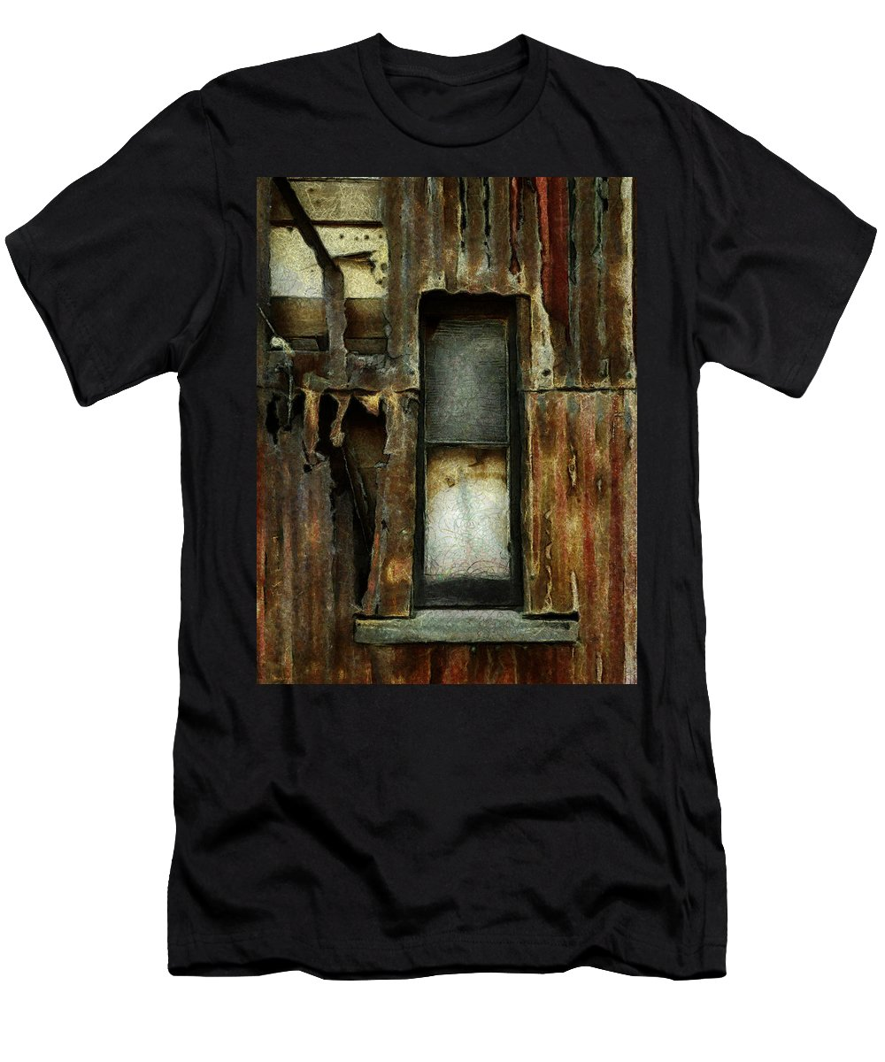 Dilapidated Men's T-Shirt (Athletic Fit) featuring the photograph Dilapidated by Steve Taylor