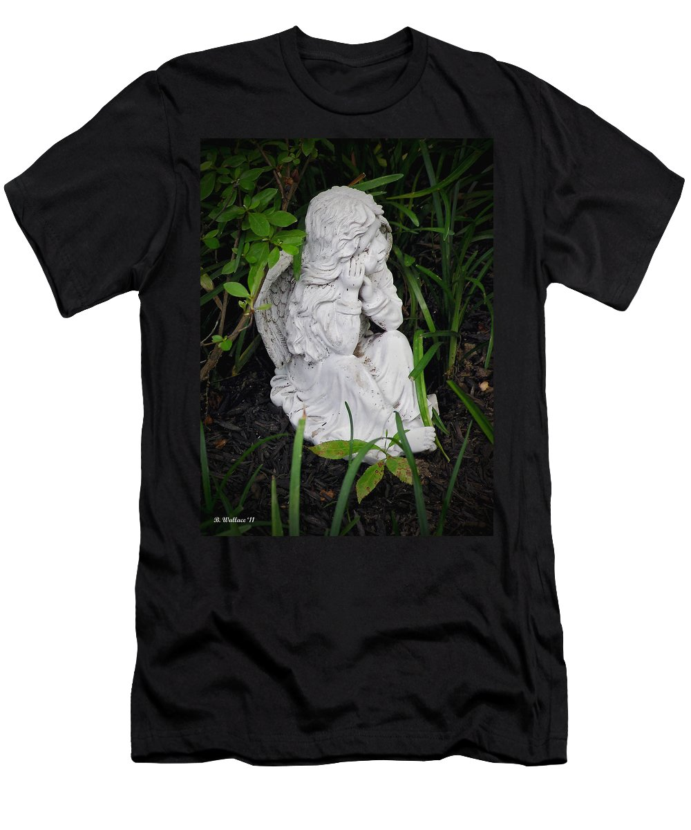 2d Men's T-Shirt (Athletic Fit) featuring the photograph Dirty Little Angel by Brian Wallace